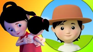 Мисс попка имели Долли | Песни для детей | дети музыка | Nursery Rhyme Song | Miss Polly Had A Dolly