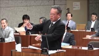 平成25年第5回 伊賀市議会(定例会)一般質問の模様です。