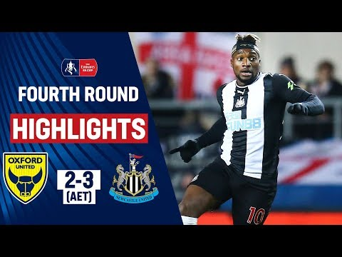 Extra-Time Screamer from Saint-Maximin! | Oxford United 2-3 Newcastle United | Emirates FA Cup 19/20