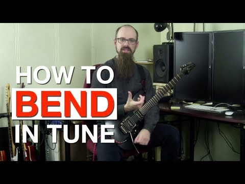 Is It Important To Bend In Tune On Guitar?