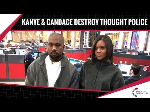 Kanye & Candace Owens Expose The Thought Police