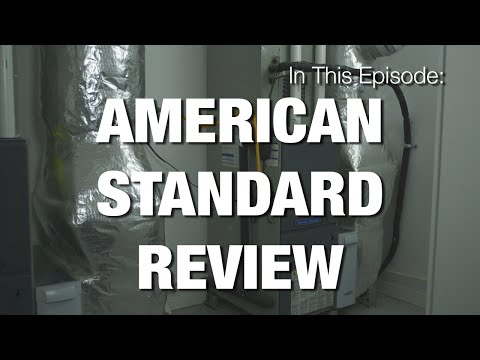 American Standard Platinum Series Furnace & Air Conditioner Review