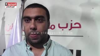 """بالفيديو .. محمد الضبع """" الشائعات والانتقادات """"لمستقبل وطن """" ليس لها أصل من الصحة"""