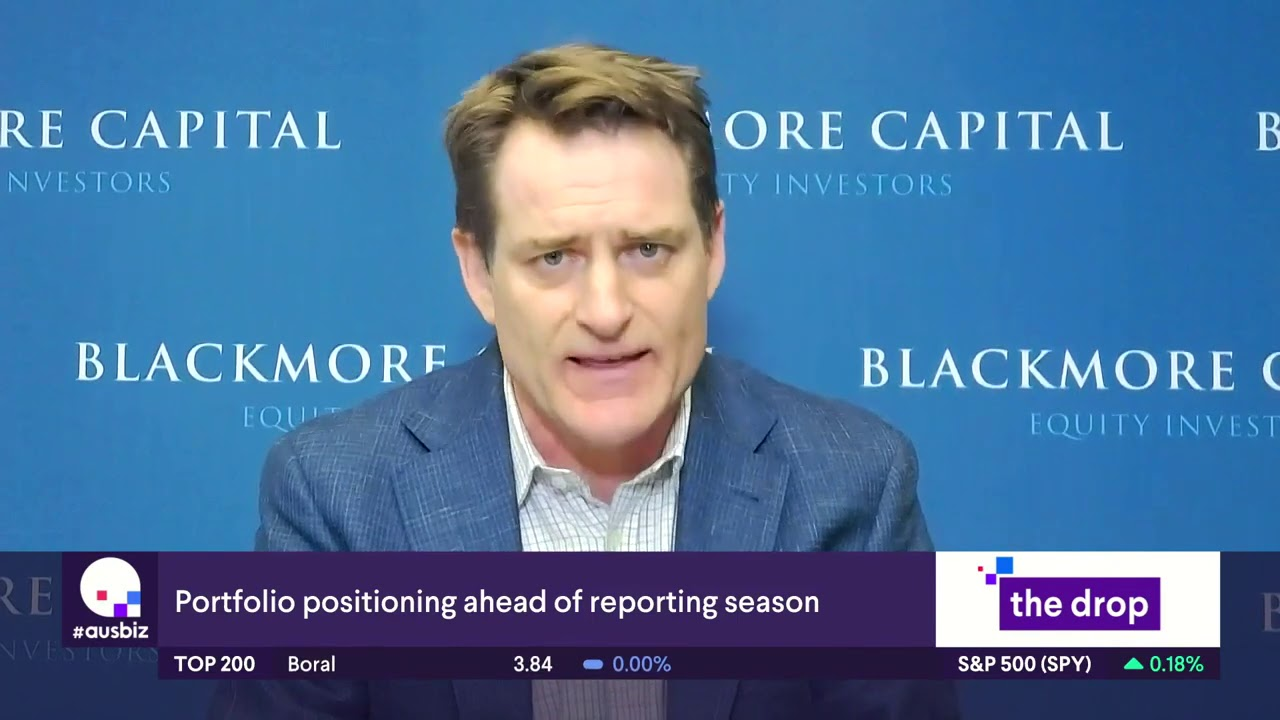 Portfolio positioning ahead of reporting season