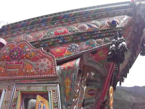 Art on wheels , See colours of Pakistan with Travel Guide of Pakistan.