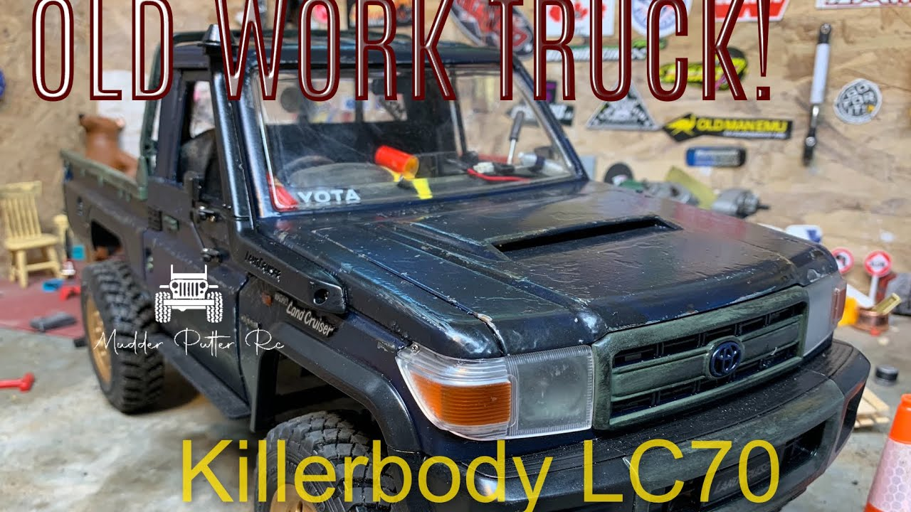 Rc4wd tf2 lc70 Work Truck