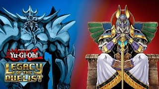 Yu-Gi-Oh! Legacy of the Duelist Online Duels : Egyptian Gods v.s. Gravekeepers!