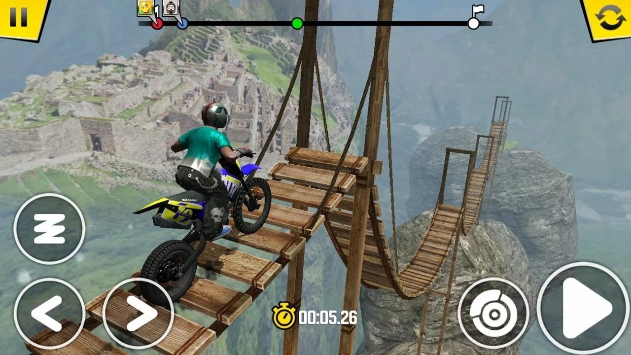 Dirt bike riding games