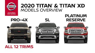 homepage tile video photo for 2020 Nissan Titan and Titan XD Walkaround & Review