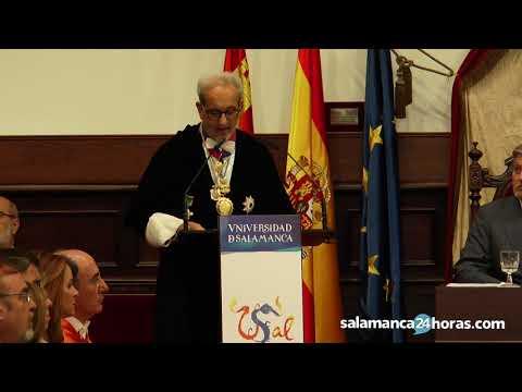 Discurso del rector de la USAL en la apertura del curso universitario en Salamanca