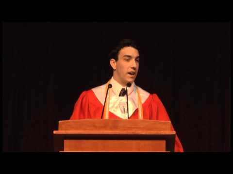 Tomball High School Commencement Speech 2013 - Connor LeBlanc