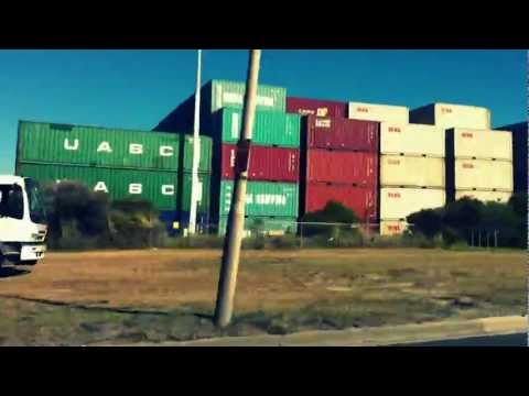 Sydney Port - Port Botany Drive-by, May 2012