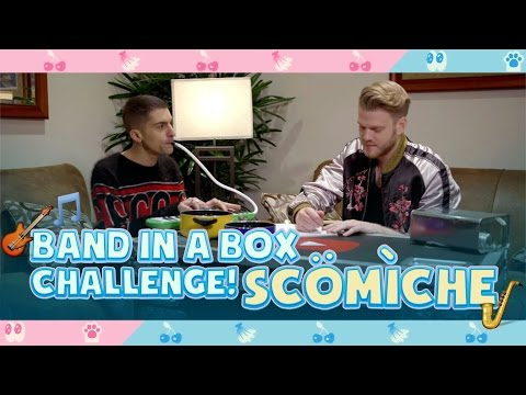 BAND IN A BOX CHALLENGE!  SCÖMÌCHE!