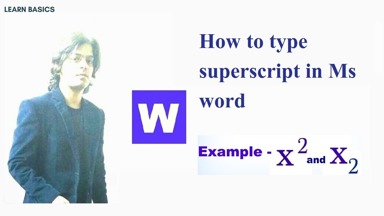 how to superscript with end note