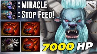 Miracle Spirit Breaker 7000 HP TANK Dota 2