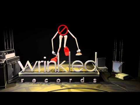 Wrinkled Records Logo Animated