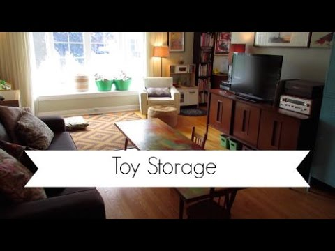 Living Space Playroom Tour | Toy Storage