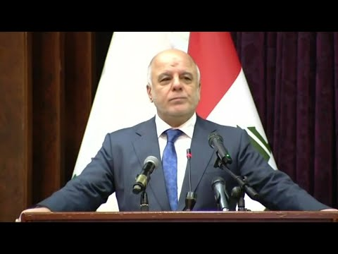 Iraqi prime minister says Islamic State have been driven from Iraq