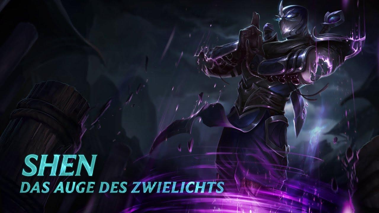 Shen Skin Spotlight Fähigkeiten Lol Champion