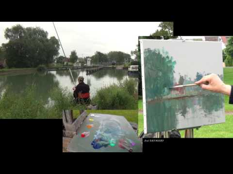 José SALVAGGIO plein air painting 41 Back in the past