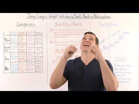 Jenny Craig vs. Weight Watchers vs. South Beach vs. Nutrisystem Comparison Review