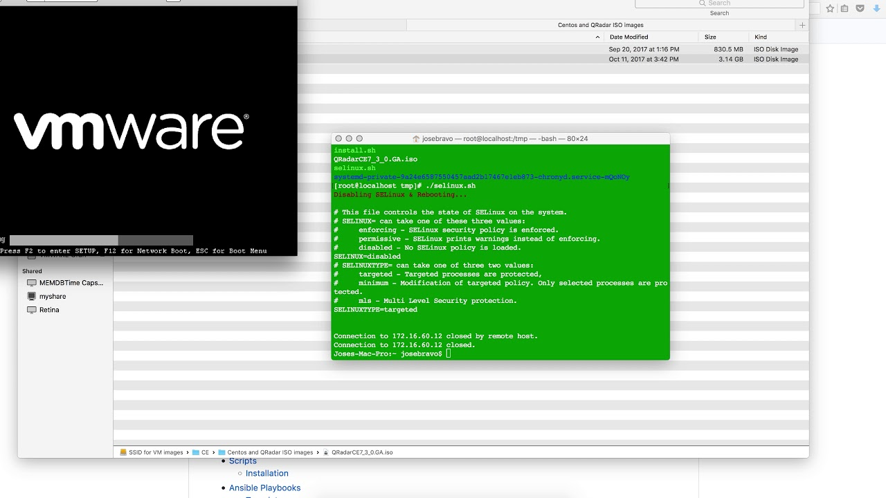 (There is a newer Video Available) QRadar CE Scripts to facilitate  installation