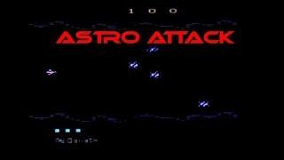 Astro Attack on the Atari 2600 VCS
