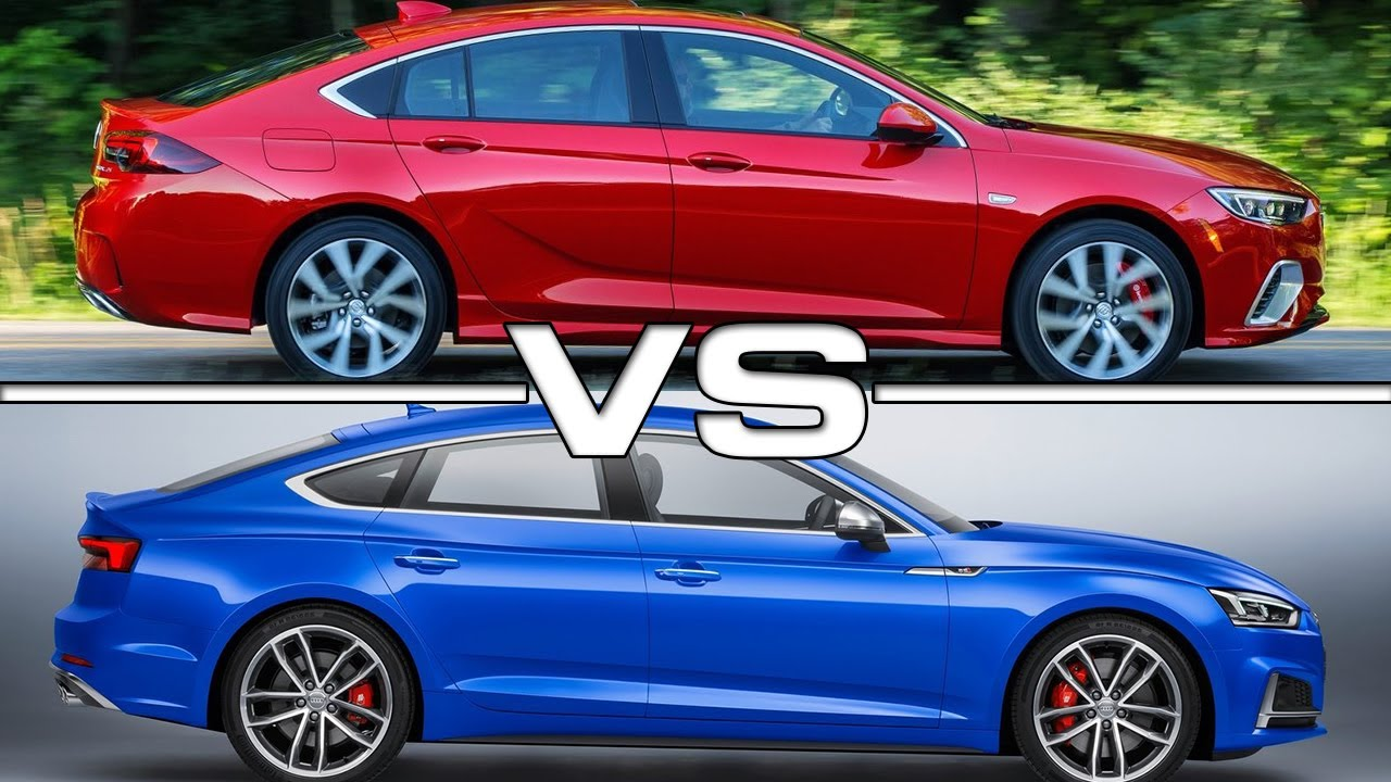 2018 Buick Regal Gs Vs 2017 Audi S5 Sportback