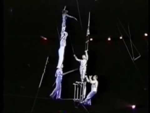"Tightrope walkers Makarov""s Канатоходцы Макаровы Circus act-High Wire"
