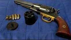 44 black powder revolver with 45 ACP  conversion cylinder