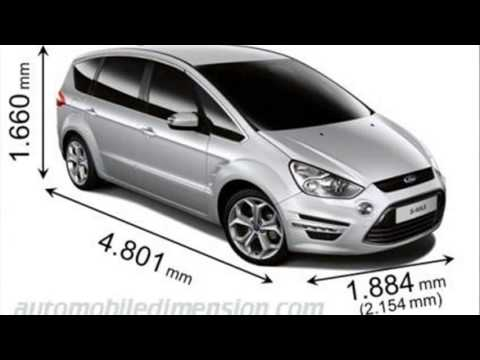 Ford S Max Dimensions Youtube