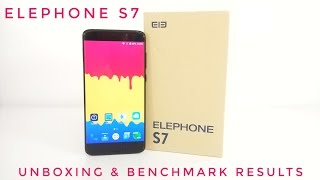 Elephone S7 Unboxing & Benchmark Results - Curved Screen, Helio X20, 4GB RAM, 64GB ROM