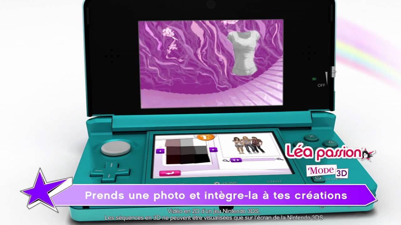 Lea Passion Mode 3d Sur Nintendo 3ds Trailer Fr Youtube