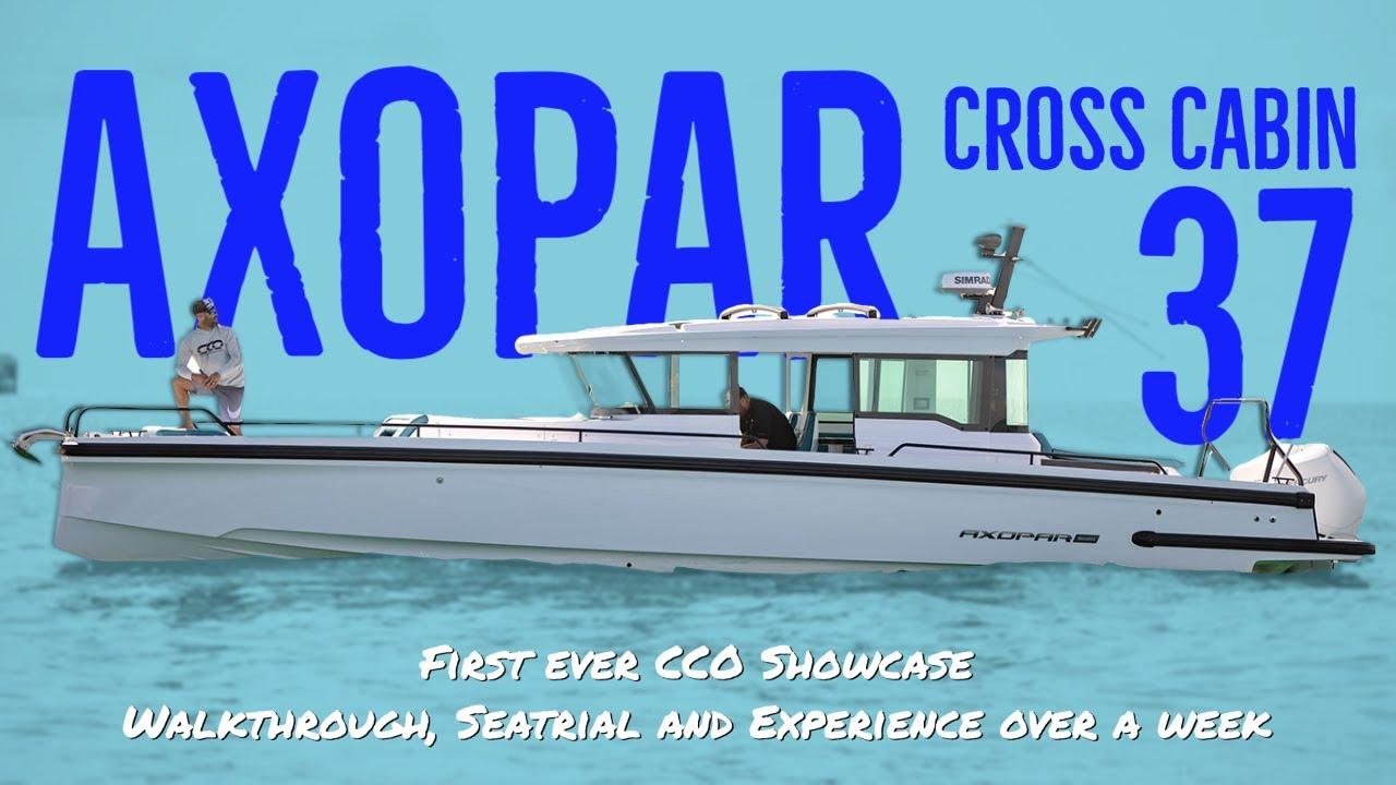 A Full Week Showcase on a Axopar 37' Cross Cabin