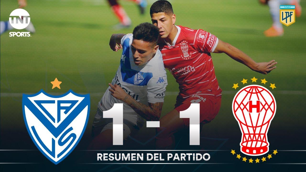 Resumen de Vélez Sarsfield vs Huracán (1-1) | Fecha 1 | Zona 6 - Copa Liga Profesional