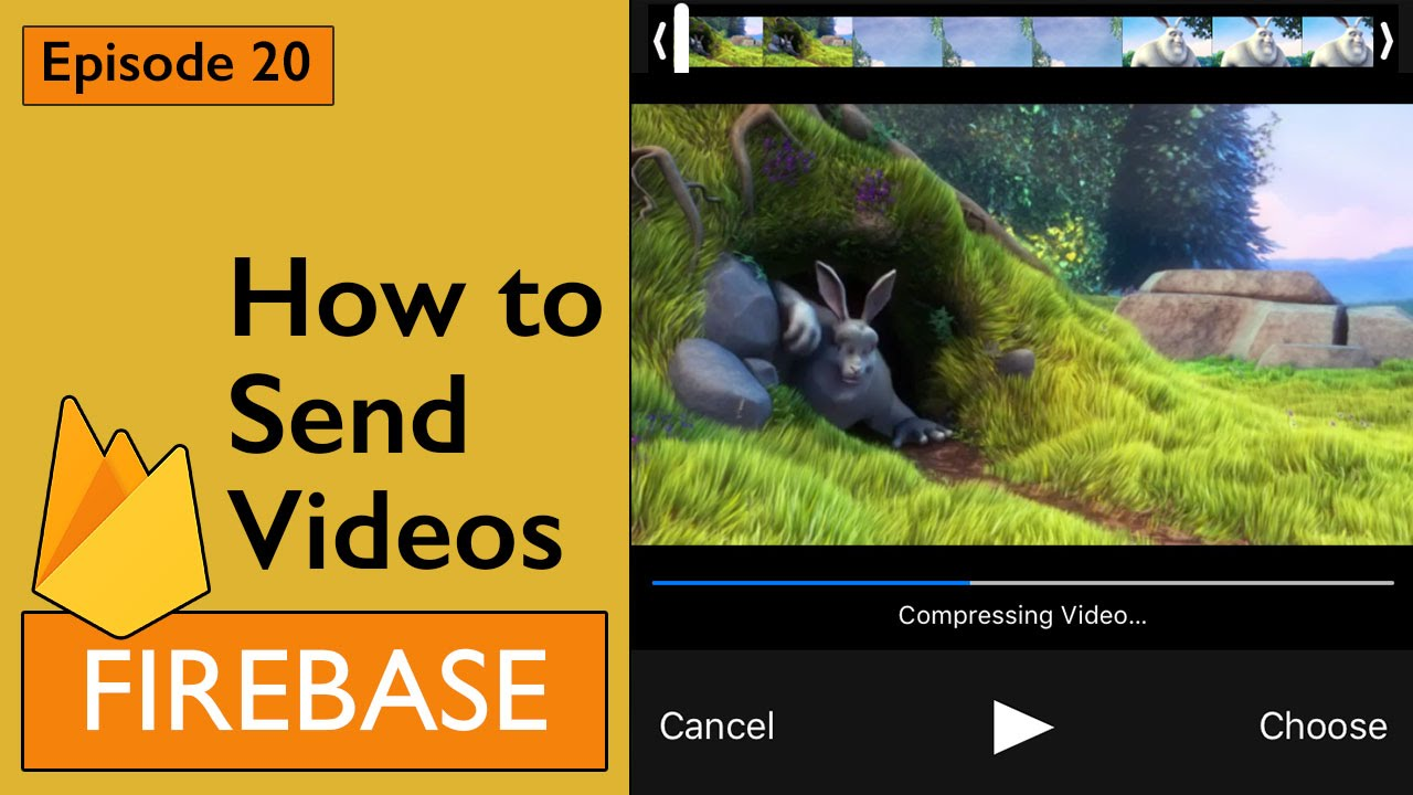 Swift: Firebase 3 - How to Send Videos (Ep 20)