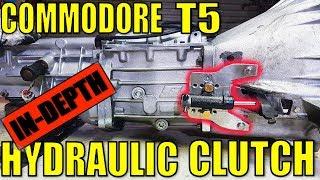 [IN DEPTH] COMMODORE T5 HYDRAULIC CLUTCH CONVERSION - VR V6 TURBO UTE