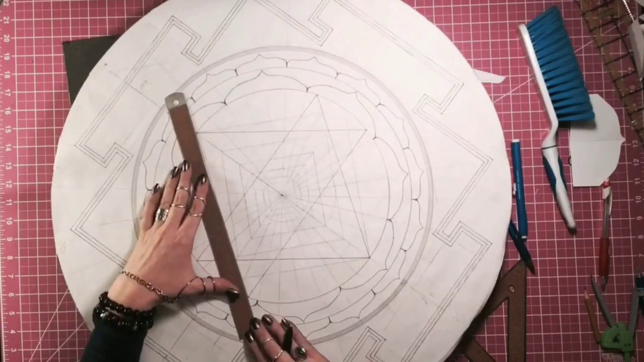 New Sri Yantra Drawing Method Time Lapse (99 99999498% Accurate/Optimal)