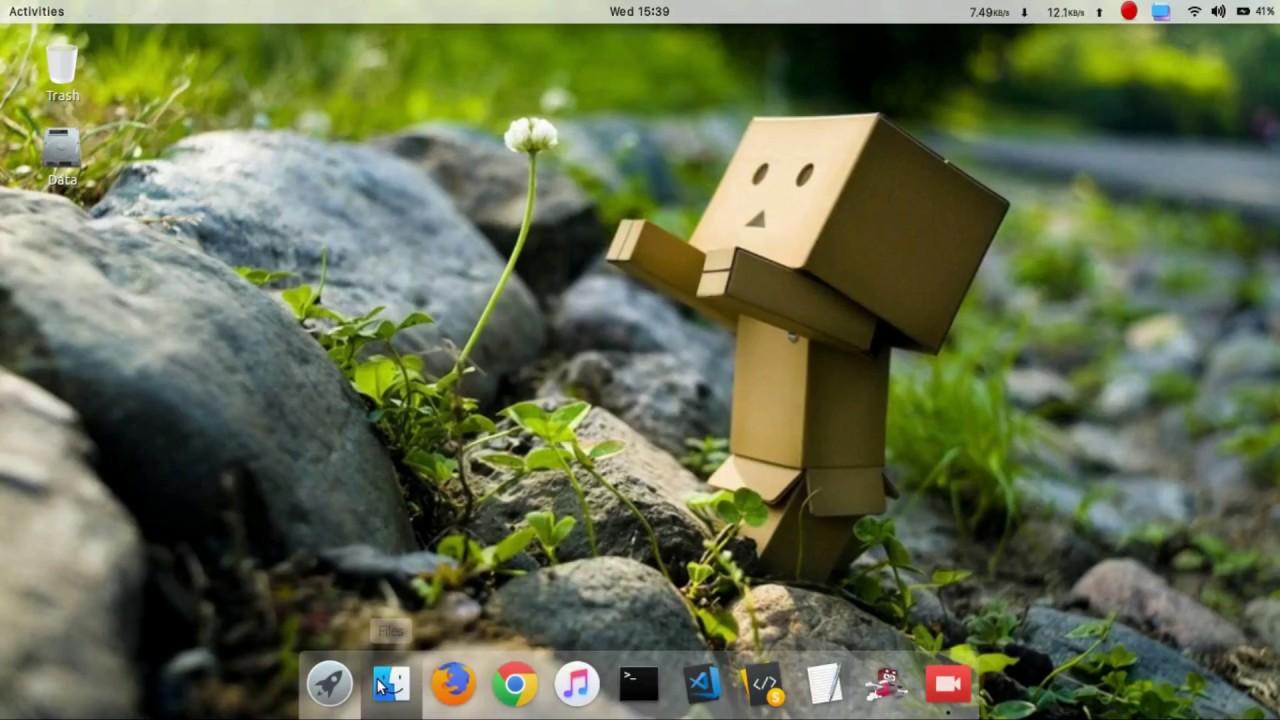 Customize Ubuntu 18 04 : GRUB Theme | Theme Start Menu | Make start screen  look good