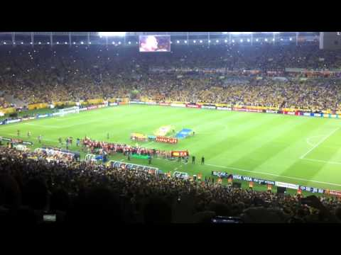 Brazilian Anthem - Confederations Cup Final 2013