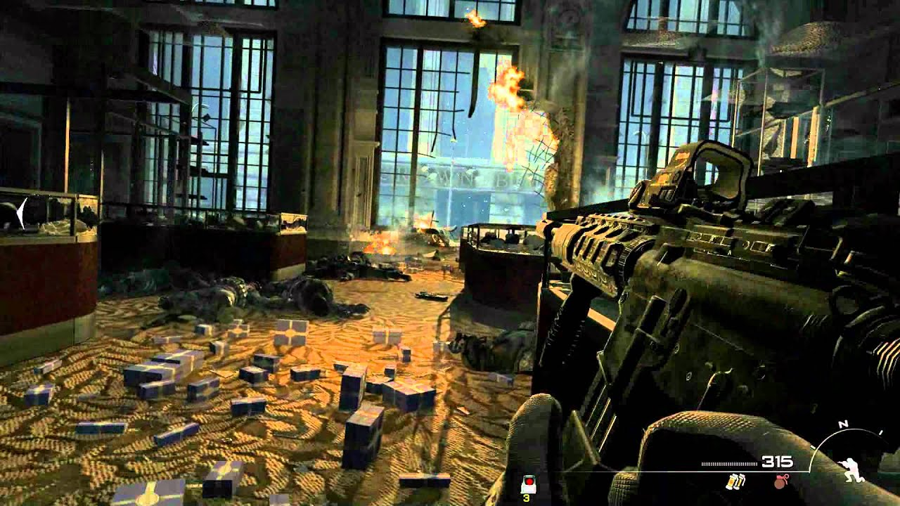 Call Of Duty Modern Warfare 3 HD 1080p Gameplay Campaign