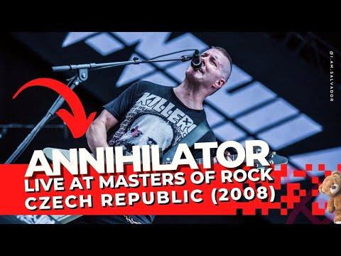 Annihilator   Live At Masters of Rock 2008 Czech Republic