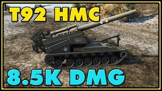 World of Tanks | T92 - 7 Kills - 8.5K Damage