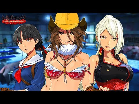 Onechanbara Origin Headed To Ps4 With New Cel Shaded Look One