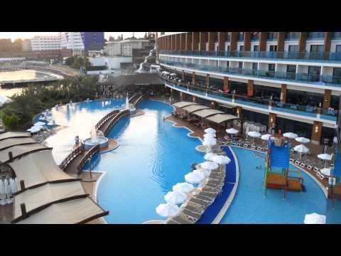Granada Luxury Resort Spa Alanya Juli 2013 Turkije Youtube