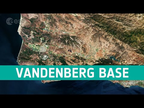 Earth from Space: Vandenberg Air Force Base, California