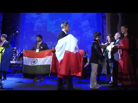IChO 48 Closing Ceremony Valay Agarawal India Gold Medal 31st Jul 2016 Tbilisi Georgia