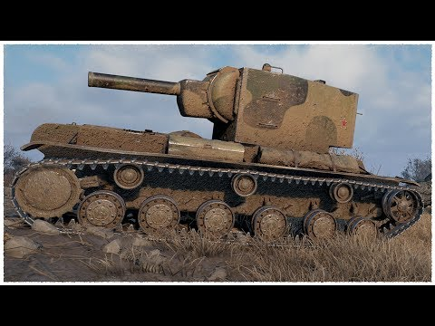 KV-2 • RED HAMMER • WoT Gameplay