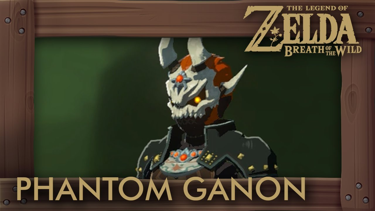 Zelda Breath Of The Wild Phantom Ganon Armor Set Location