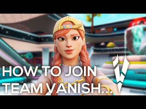 How To Join Team Vanish? (Join A Fortnite Clan) #VanishRC